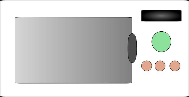 zavřená mikrovlnka
