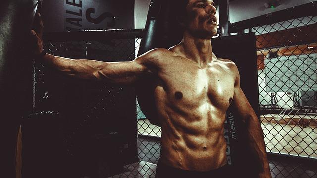 tělo sportovce