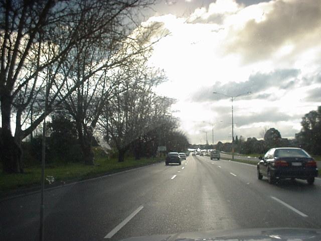 silniční provoz při stěhování